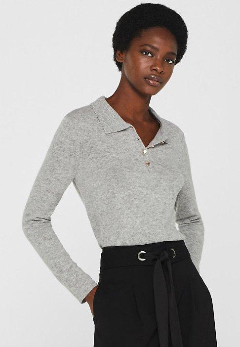 Esprit Collection - Poloshirt - grey