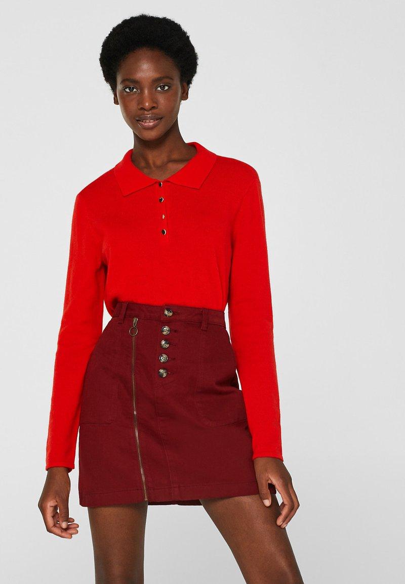 Esprit Collection - Polo shirt - orange/red