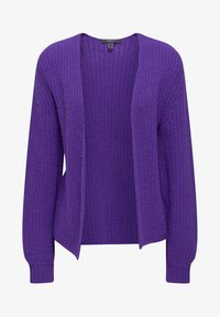 Esprit Collection - MIT BALLON-ÄRMELN - Gilet - purple - 4