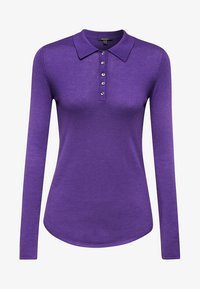 Esprit Collection - MIT KASCHMIR-TOUCH - Poloshirt - purple - 6