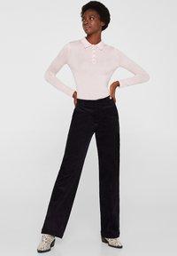Esprit Collection - MIT KASCHMIR-TOUCH - Poloshirt - light pink - 1