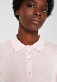 Esprit Collection - MIT KASCHMIR-TOUCH - Poloshirt - light pink - 4