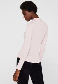 Esprit Collection - MIT KASCHMIR-TOUCH - Poloshirt - light pink - 2