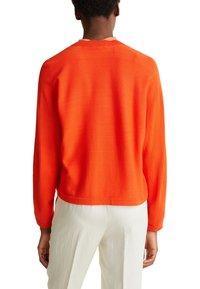 Esprit Collection - BOLERO W LACE - Gilet - red orange - 5