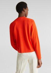 Esprit Collection - BOLERO W LACE - Gilet - red orange - 2