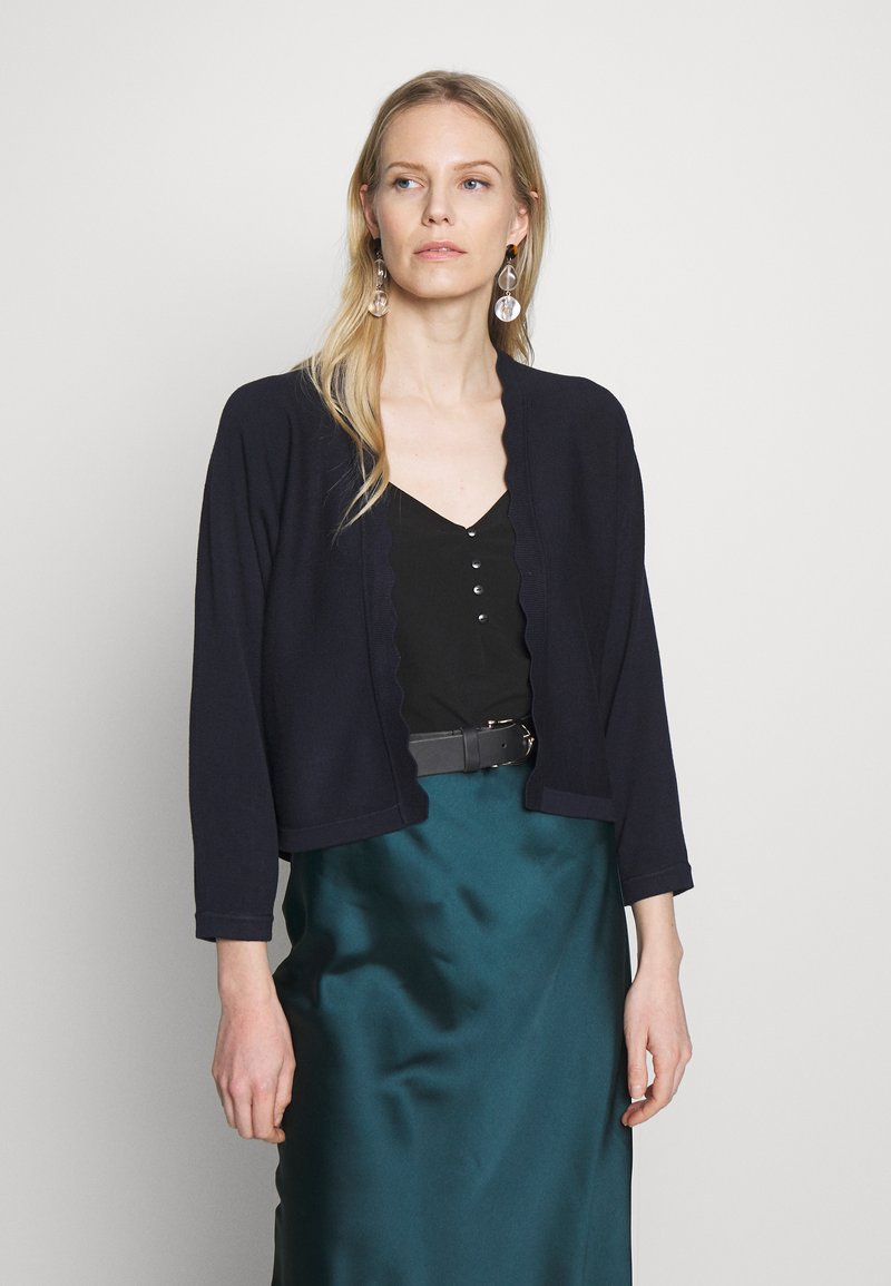 Esprit Collection - BOLERO W LACE - Gilet - navy