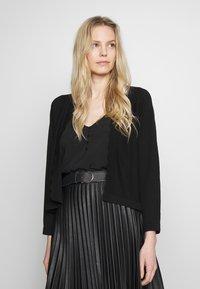 Esprit Collection - BOLERO W LACE - Gilet - black - 0