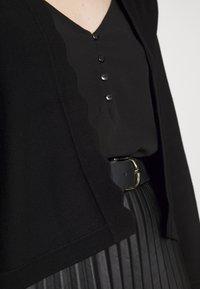 Esprit Collection - BOLERO W LACE - Gilet - black - 5