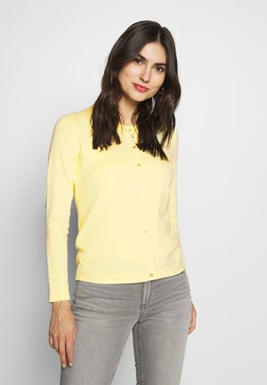 ECOVERO - Cardigan - lime yellow