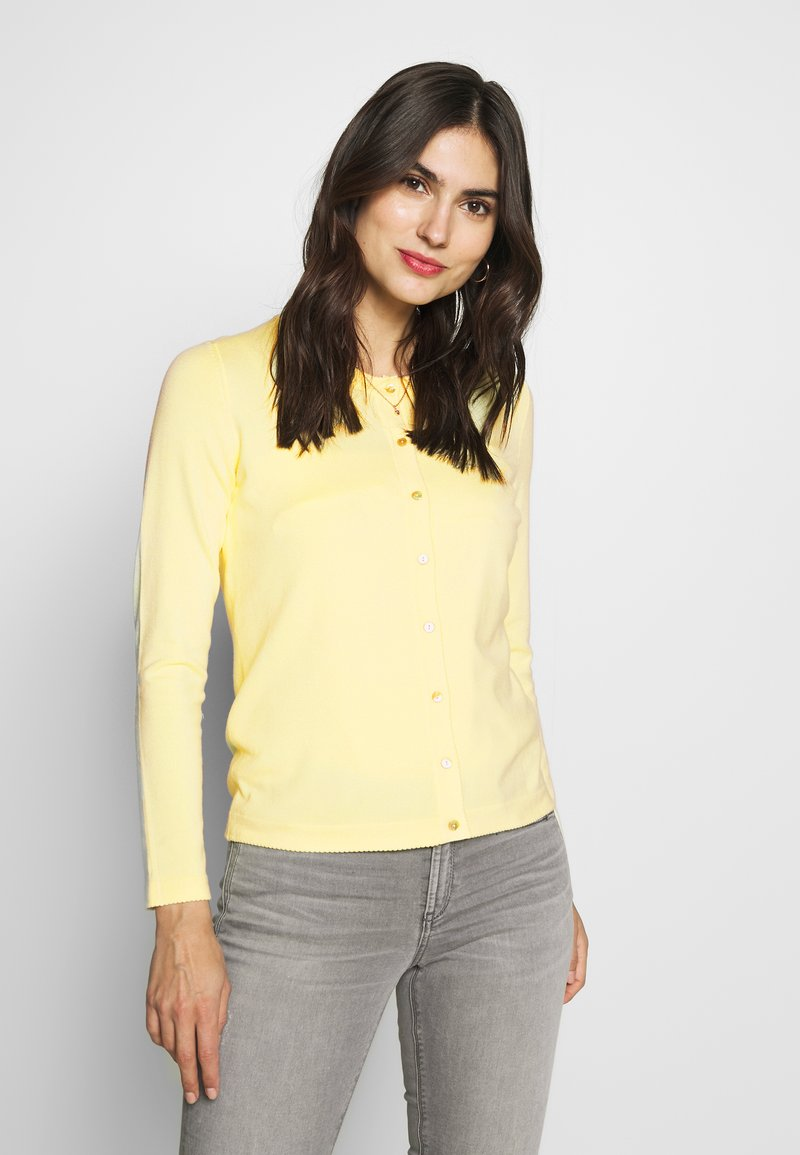 Esprit Collection - ECOVERO - Cardigan - lime yellow