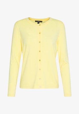 ECOVERO - Strikjakke /Cardigans - lime yellow