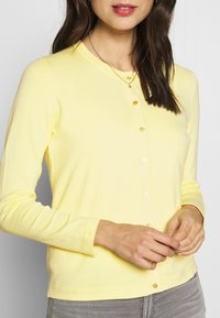 Esprit Collection - ECOVERO - Cardigan - lime yellow - 5