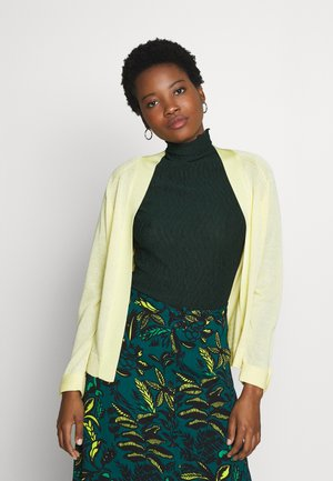 Cardigan - lime yellow
