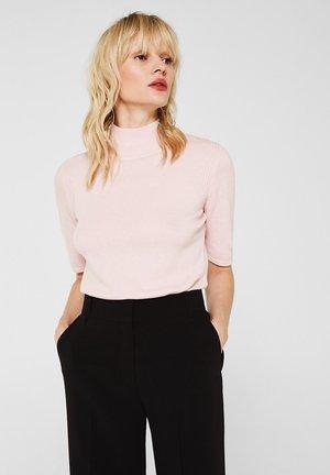 MIT KASCHMIR - T-shirt basic - light pink