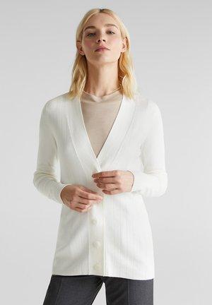 MIT LENZING™ ECOVERO - Cardigan - off white