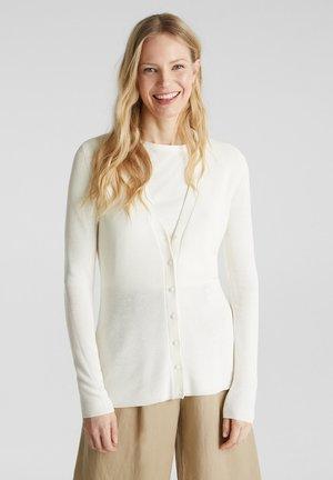 FASHION CARDIGAN - Cardigan - off white