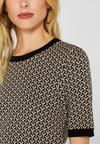 Esprit Collection - MIT JACQUARD-MUSTER - T-Shirt print - black