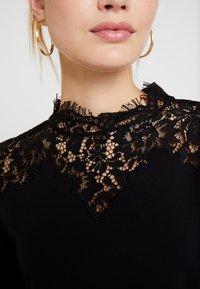 Esprit Collection - NECK  - T-shirt à manches longues - black - 5