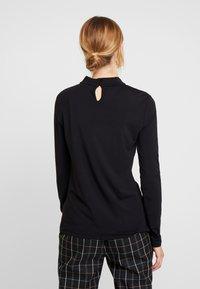 Esprit Collection - NECK  - T-shirt à manches longues - black - 2
