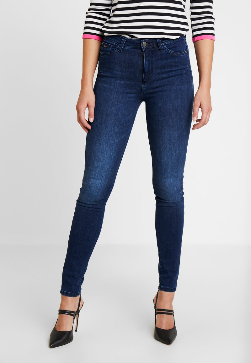 Esprit Collection - Jeansy Slim Fit - blue dark wash