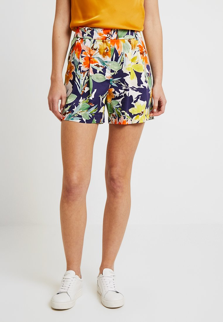 Esprit Collection - PLEATED - Shorts - navy