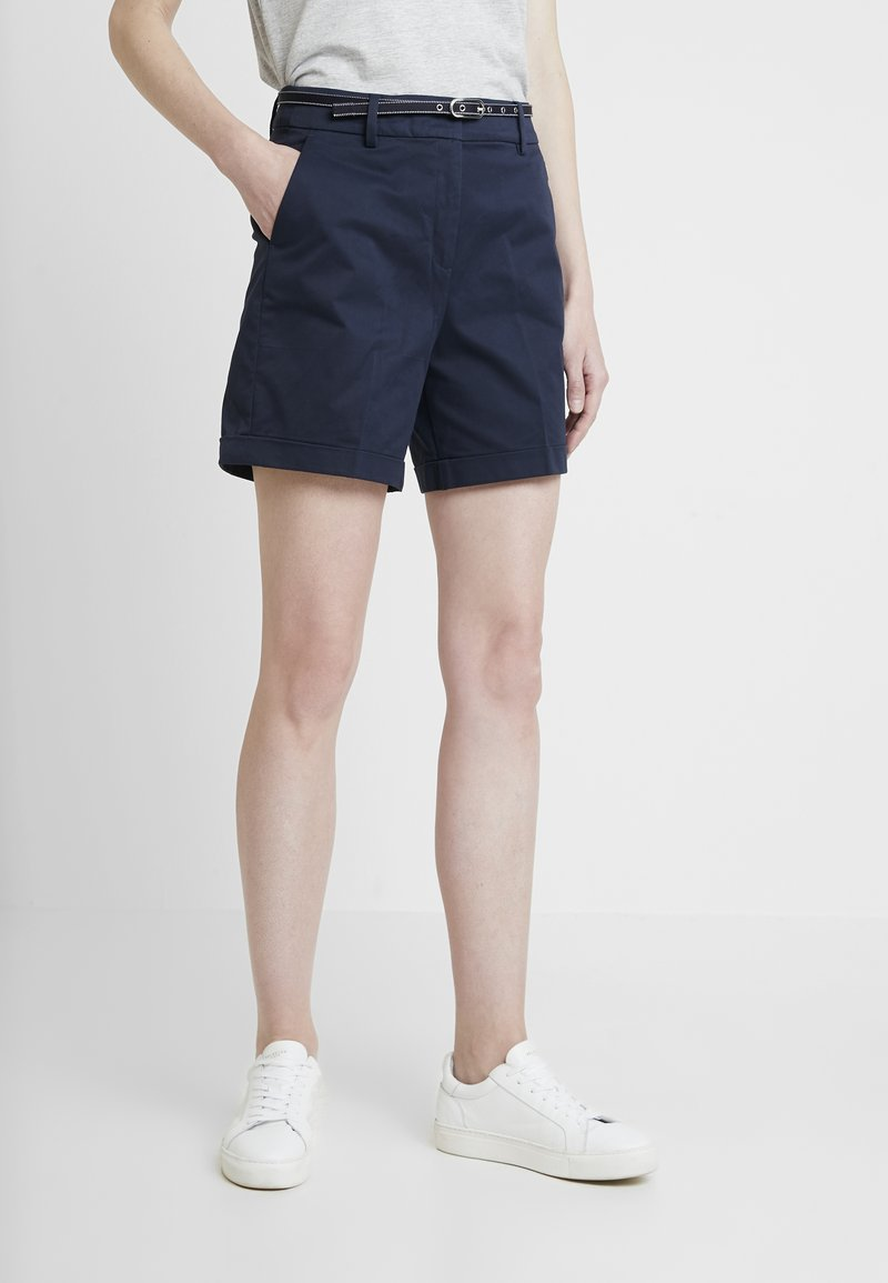 Esprit Collection - SOLID - Shorts - navy