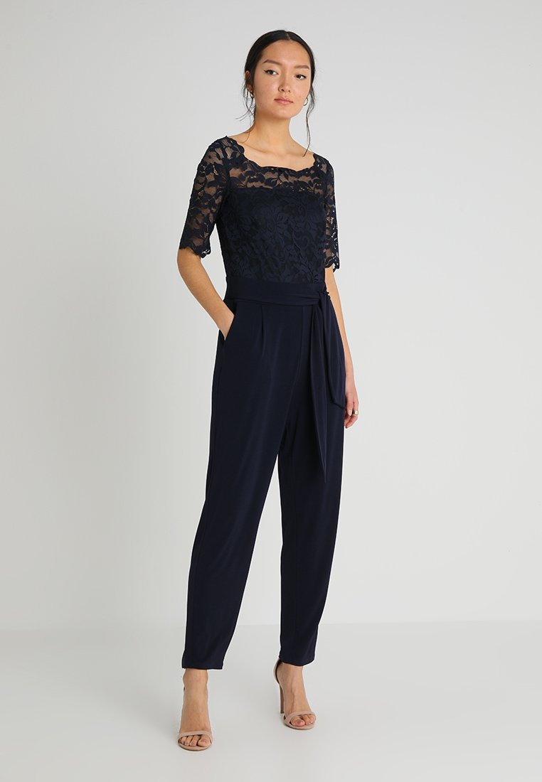 Esprit Collection - AVA STRETCH - Jumpsuit - navy