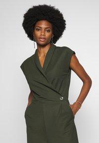 Esprit Collection - Tuta jumpsuit - khaki green - 4