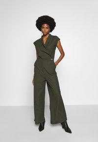 Esprit Collection - Tuta jumpsuit - khaki green - 0
