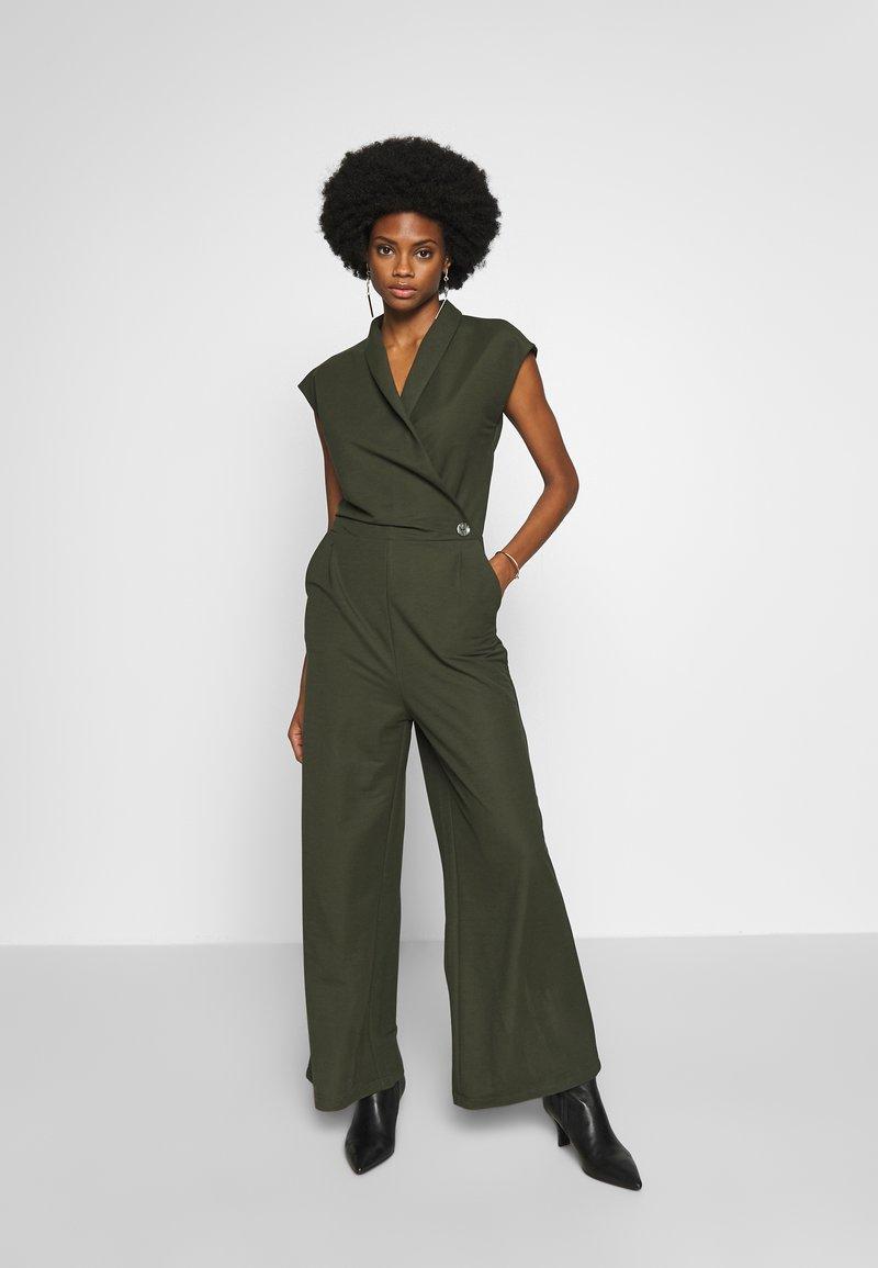 Esprit Collection - Tuta jumpsuit - khaki green