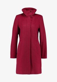 Esprit Collection - FEMININE COAT - Manteau classique - dark red - 4