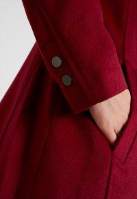 Esprit Collection - FEMININE COAT - Manteau classique - dark red - 5