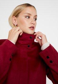 Esprit Collection - FEMININE COAT - Manteau classique - dark red - 3