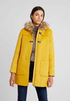 Kort kåpe / frakk - amber yellow