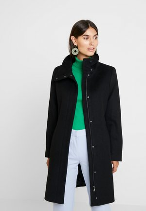 FEMININE COAT - Mantel - black