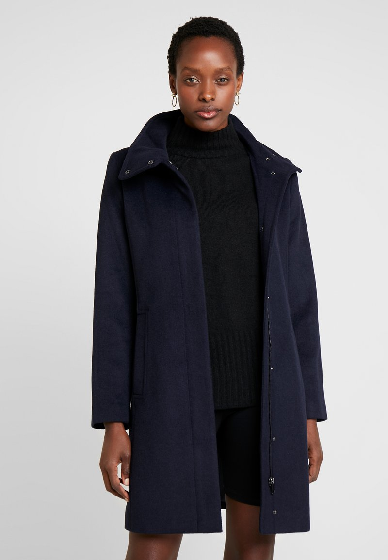 Esprit Collection - FEMININE COAT - Kurzmantel - navy