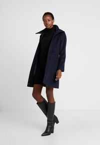 Esprit Collection - FEMININE COAT - Manteau court - navy - 1