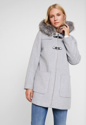 MIX COAT - Cappotto corto - light grey