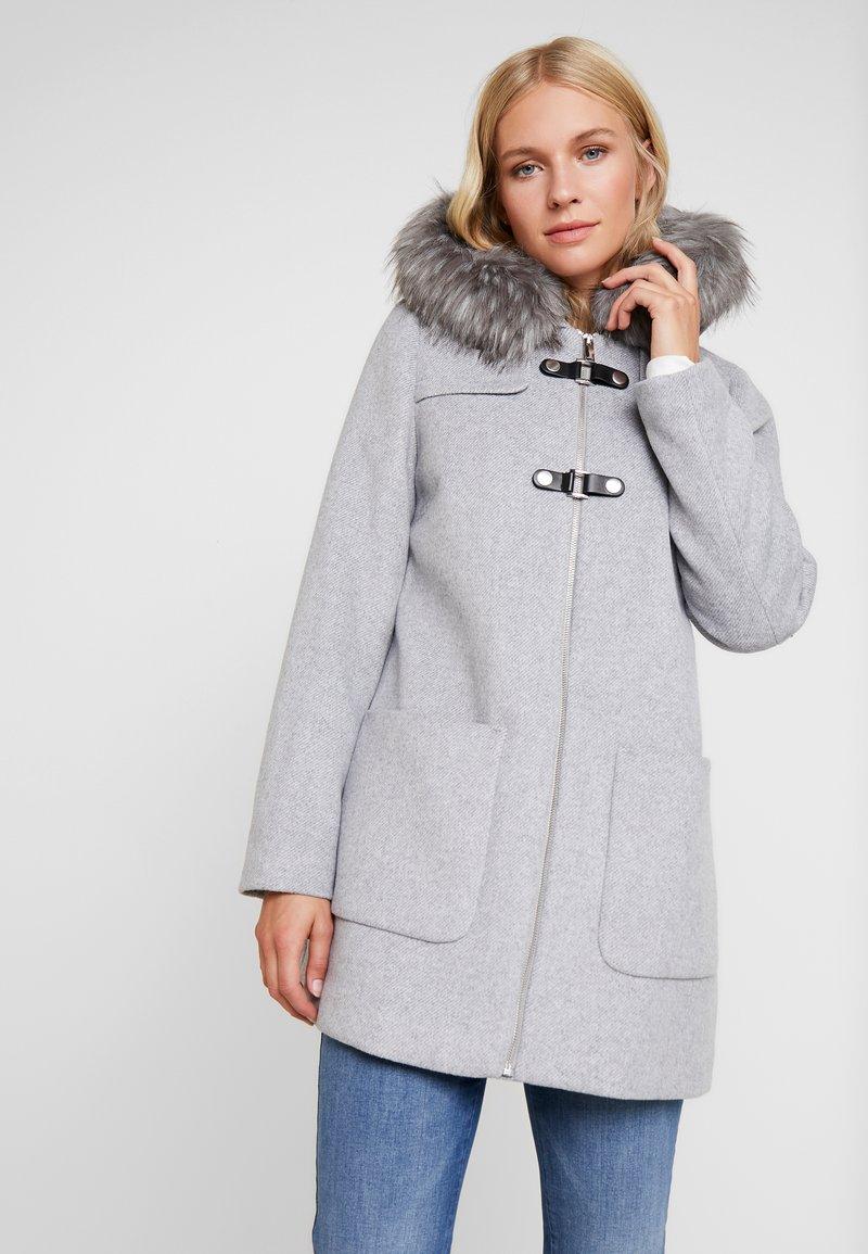 Esprit Collection - MIX COAT - Kort kåpe / frakk - light grey