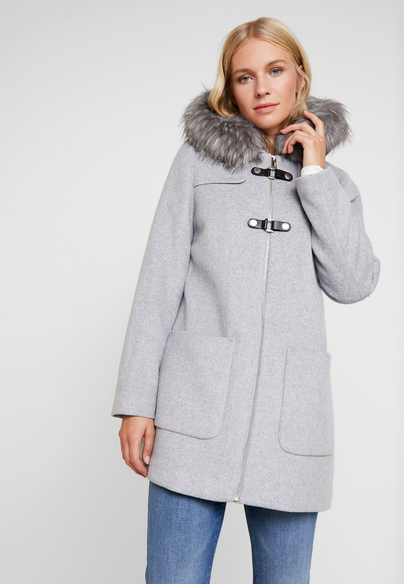 Esprit Collection - MIX COAT - Korte frakker - light grey