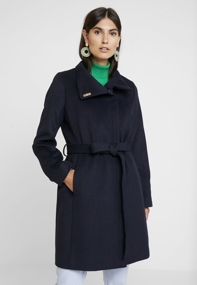 Esprit Collection - MIX COAT - Wollmantel/klassischer Mantel - navy