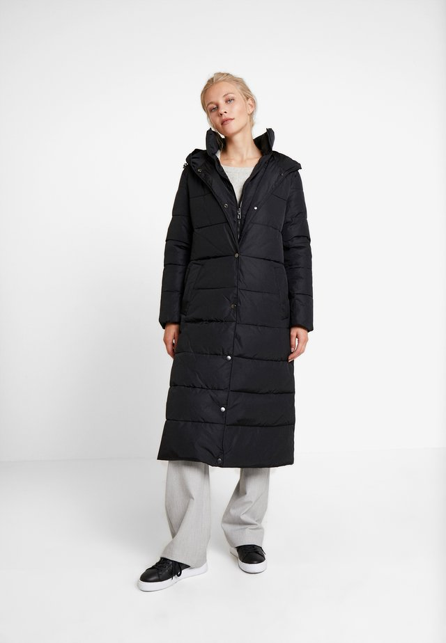 2IN1 PUFFERCOAT - Classic coat - black