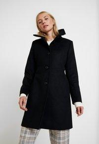 Esprit Collection - FEMININE COAT - Abrigo corto - black - 0