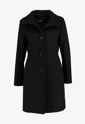 FEMININE COAT - Kort kåpe / frakk - black