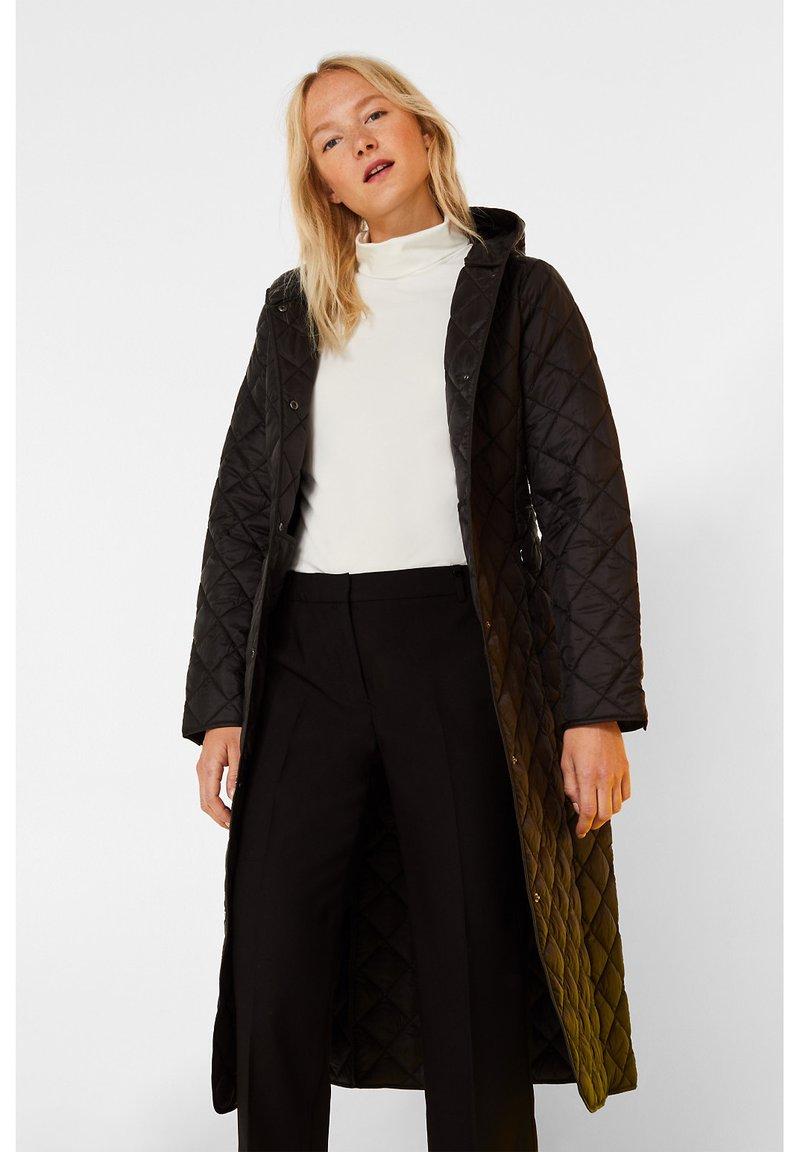 Esprit Collection - MIT KAPUZE - Wintermantel - black