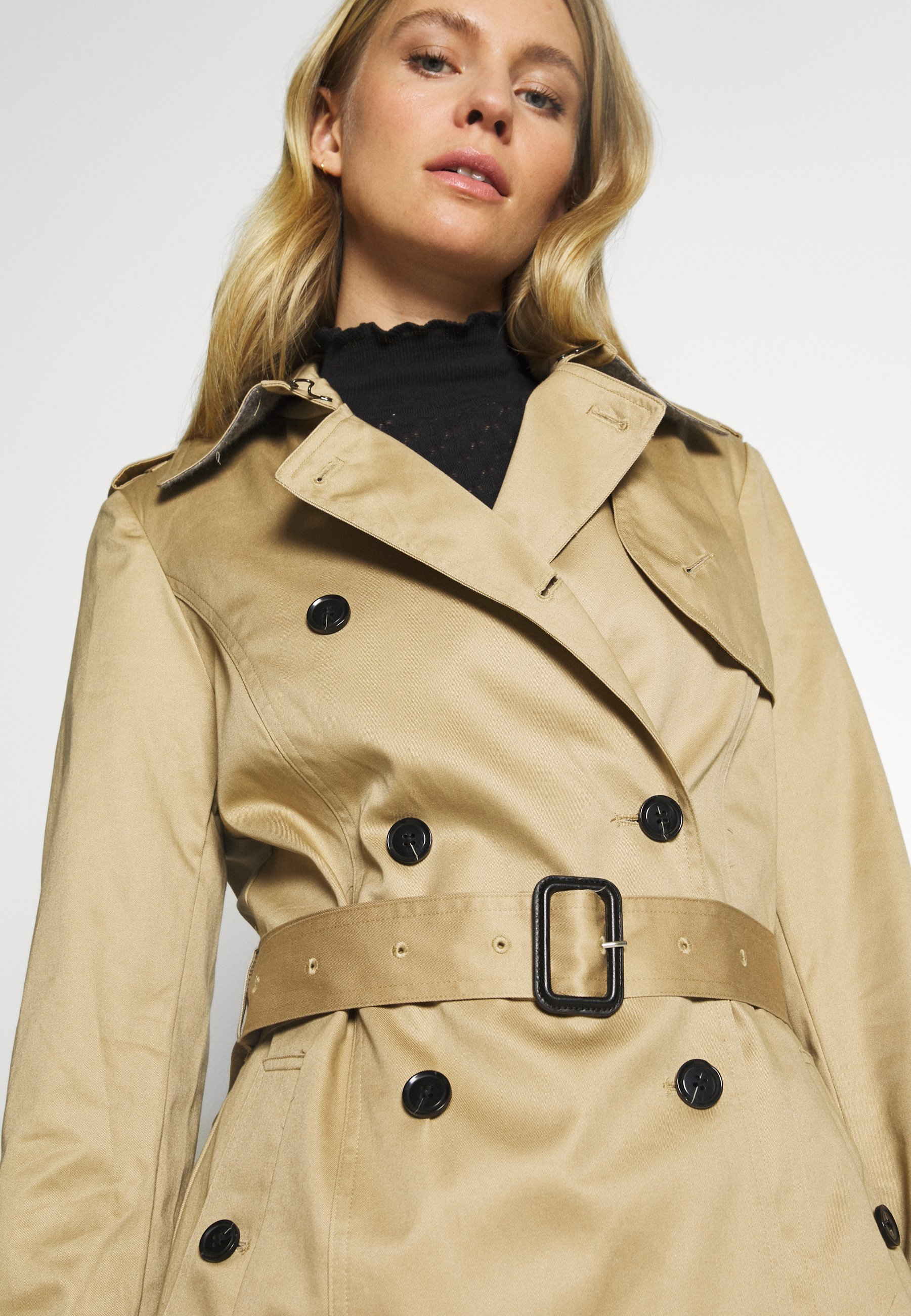 Esprit Collection CLASSIC TRENCH - Prochowiec - beige
