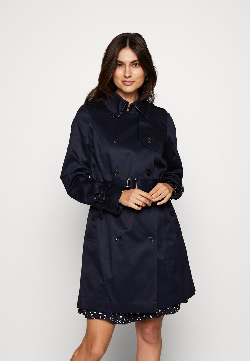 Esprit Collection - CLASSIC TRENCH - Trenchcoat - navy