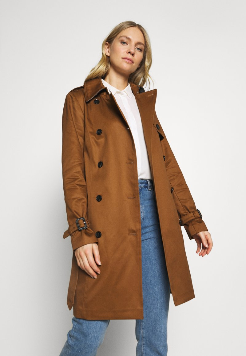 Esprit Collection - CLASSIC TRENCH - Trenchcoat - toffee