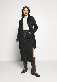Esprit Collection - CLASSIC TRENCH - Trenchcoat - black - 1