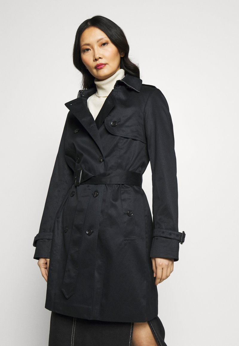 Esprit Collection - CLASSIC TRENCH - Trenchcoat - black